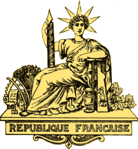 Republique Francaise - Franc currency territories