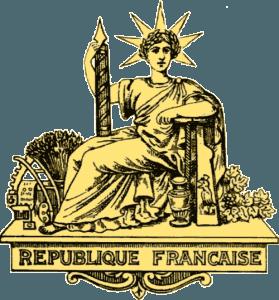 Republique Francaise - Franc currency territories