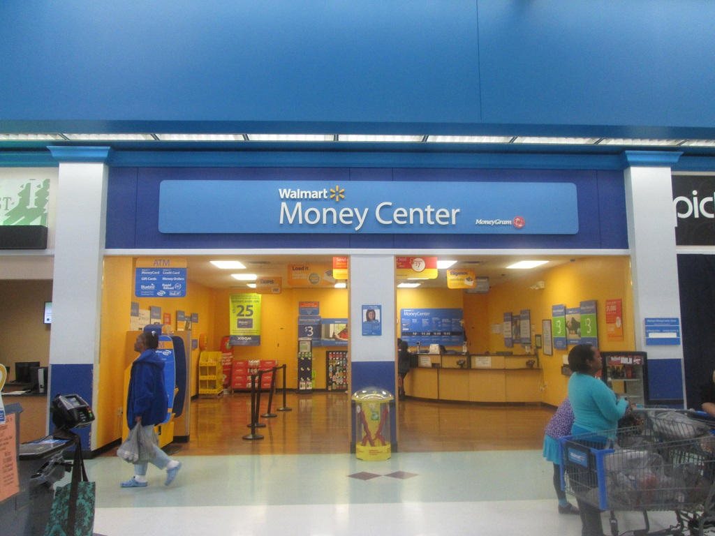 walmart money center store front