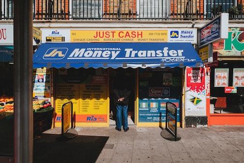 shop offering western union money transfer