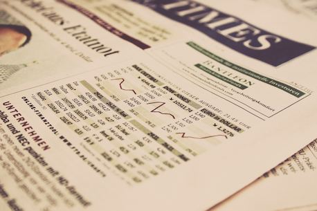 economy paper on table